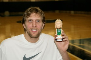 Dirk playing with his bobble