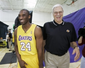 Phil & Kobe win 4th Title together