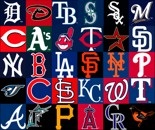 Power Rankings MLB | Game Time Nation (
